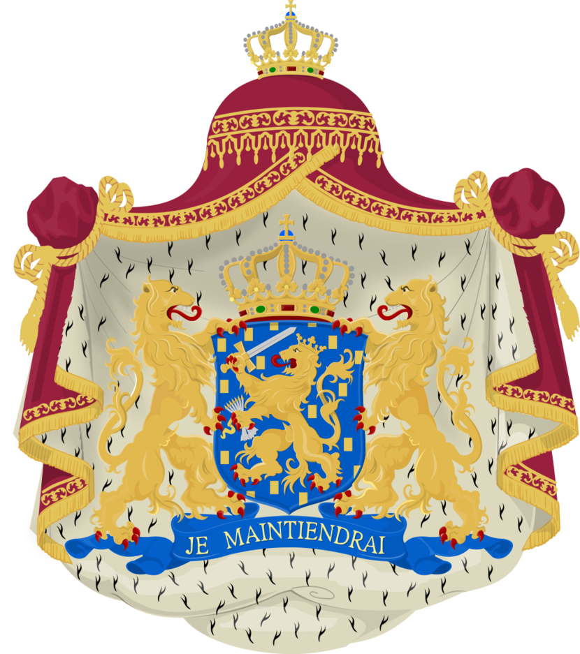 Flagge Und Wappen Der Niederlande